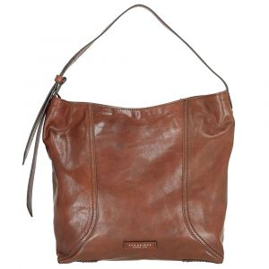 THE BRIDGE Brown Leather Sac Bag Pienza Line