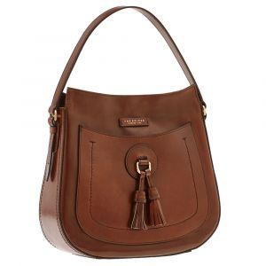THE BRIDGE Brown Leather Woman Hobo Bag Santacroce Line