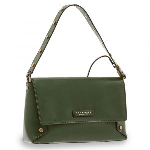 THE BRIDGE Eleonora Line – English Green Leather Shoulder Bag 04481001X0