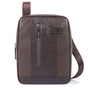"PIQUADRO Urban Line – Brown Leather Crossbody Bag with iPad®10,5""/iPad 9,7"" Compartment CA1816UB00"