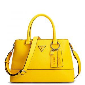 GUESS Cordelia Line – Yellow Handle Bag