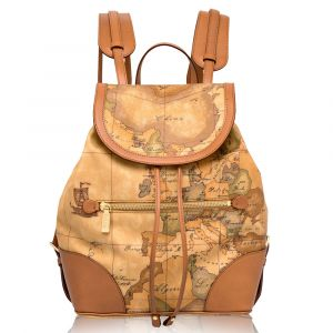 1A Classe Alviero Martini Neo Casual D015 - Geo Classic Backpack Made in Italy