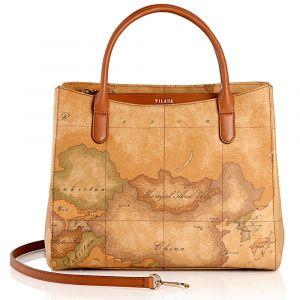 1A Classe Alviero Martini Geo Classic E003 - Small Handbag with Shoulder Strap