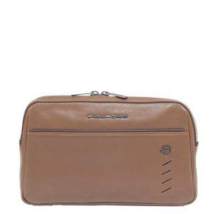 PIQUADRO Nabucco Line – Brown Leather Belt Bag CA5348S110
