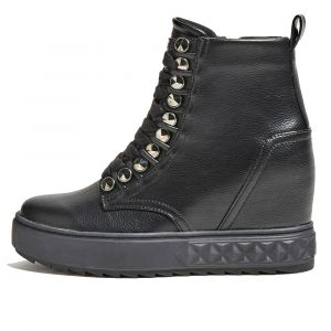 GUESS Fyre Line – Black Ankle Boots For Women