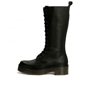 GUESS Toki Line – Black Leather Boots for Women