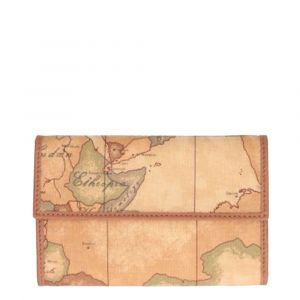 Middle Closed Wallet with Button Class 1A Alviero Martini Geo Classic W022