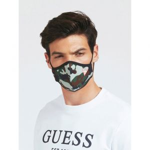 GUESS Unisex Camouflage Mask