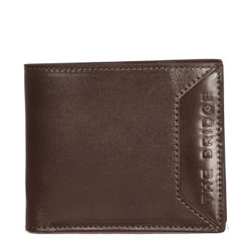 THE BRIDGE BufaliniLine –Military Green Wallet Made In Italy