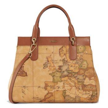 1A Classe Alviero Martini Geo Classic Line – Handle Bag with Shoulder Strap E020