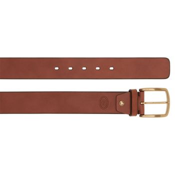 THE BRIDGE Brunelleschi Line – Brown Leather Belt Made in Italy