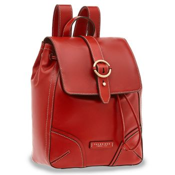 THE BRIDGE Matilde Line – Red Leather Backpack