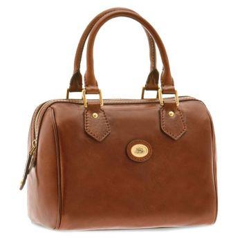 THE BRIDGE Story Line –Brown Leather Boston Bag