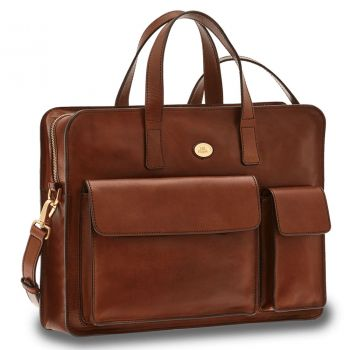 THE BRIDGE Story Line – Brown Leather Messenger 0635210114