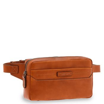 THE BRIDGE Serristori Line - Cognac Leather Waist Pouch