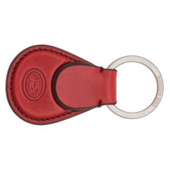 THE BRIDGE Duccio Line - Ribes Red Leather Key Holder Made in Italy