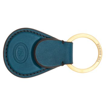 THE BRIDGE Duccio Line - Persian Green Leather Key Holder Made in Italy
