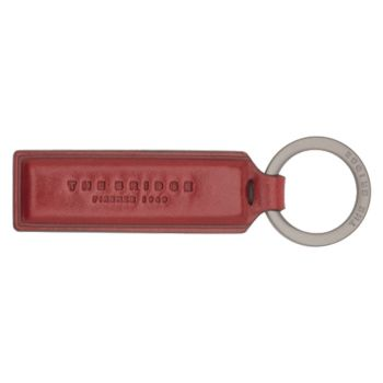 THE BRIDGE Duccio Line - Ribes Red Key Ring Made in Italy