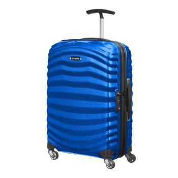 SAMSONITE Lite-Shock Line –Cabin Case Pacific Blue Spinner 4 Wheels 55 cm