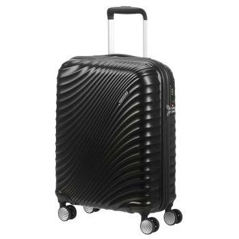 American Tourister Soundbox – Black Hardside Cabin Case 55 cm 4 wheels 2,6 kg 122816/2368