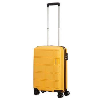 Cabin Trolley 55cm 4-wheel 2,5kg - American Tourister Splash Summer Honey Yellow