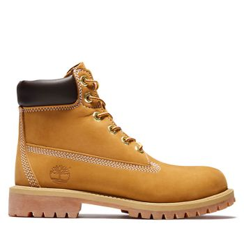 TIMBERLAND Premium 6 Inch Line – Junior Yellow Leather Boots