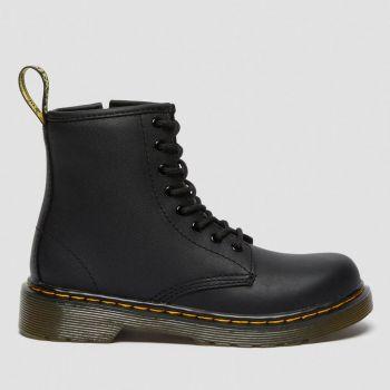 DR. MARTENS 1460 J Line – Black Leather Boots for Kids
