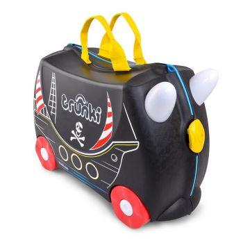 TRUNKI Ride-on Suitcase for Kids - Trunki Pedro the Pirate Ship