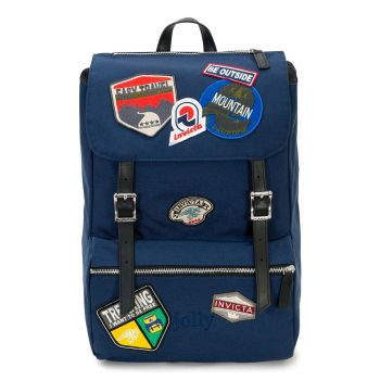 INVICTA Jolly Heritage Patch Line - Mood Indigo Backpack