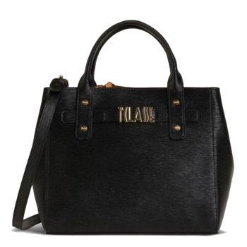 1A Classe Alviero Martini Voyage Smile GO47 - Black Handbag with Strap