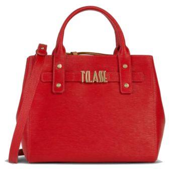 1A Classe Alviero Martini Voyage Smile GO47 - Vivid Red Handbag with Strap