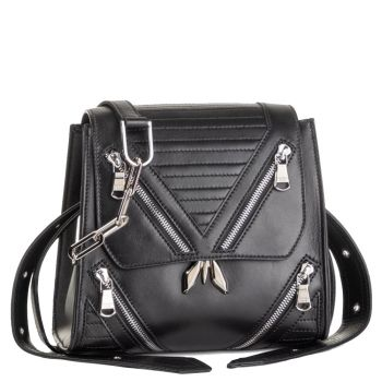 Shoulder bag PATRIZIA PEPE Leather Black 2V8235
