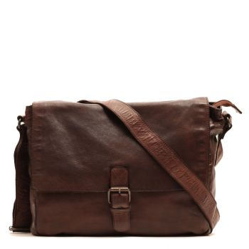 Gianni Conti Vintage Line - Brown Leather Messenger