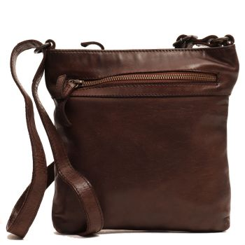 GIANNI CONTI Vintage Line - Brown Leather Purse
