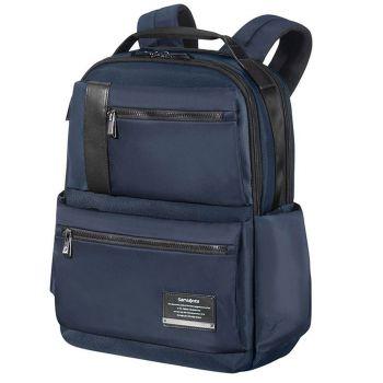 "SAMSONITE Blue Fabric Laptop 15.6"" Backpack Openroad Line"