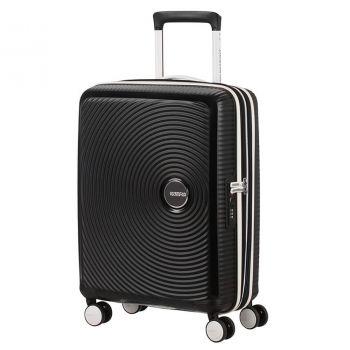 American Tourister American Tourister Soundbox – Black Hardside Cabin Case 55 cm 4 wheels 2,6 kg
