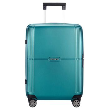 SAMSONITE Trolley Hard Shell Medium Size 4 Wheels 69 cm Orfeo Blue Lagoon Line