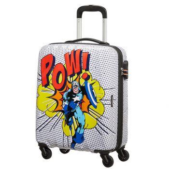 American Tourister Marvel Legends Capitan America – Hardside cabin case 55 cm 4 wheels 2,6 kg