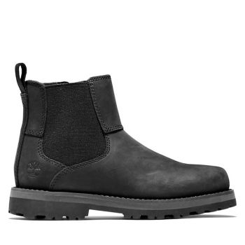 TIMBERLAND Courma Kid Line – Black Leather Chelsea Boots