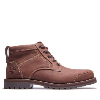 TIMBERLAND Larchmont II MID Line – Light Brown Leather Boots for Men