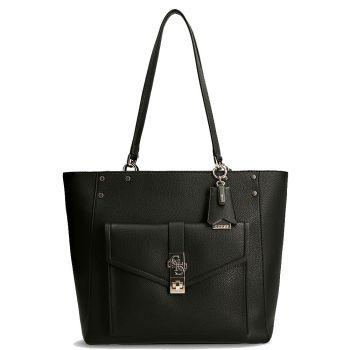 GUESS Albury Line – Black Shoulder Bag