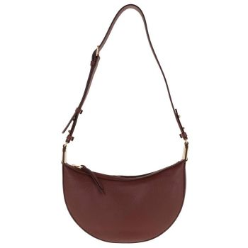 COCCINELLE Anais Line - Marsala Color Leather Woman Shoulder Bag