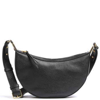 COCCINELLE Anais Line - Black Colour Leather Woman Shoulder Bag