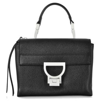 COCCINELLE Arlettis Sporty - Black Leather Mini Handbag
