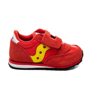 Saucony Baby Jazz HL Line – Red - Yellow Sneakers