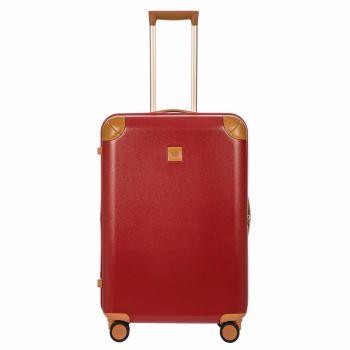 BRIC'S Red Medium Size Spinner Trolley 70,5cm Amalfi Line BAQ08353