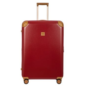 BRIC'S Red Large Size Spinner Trolley 82cm Amalfi Line BAQ08355