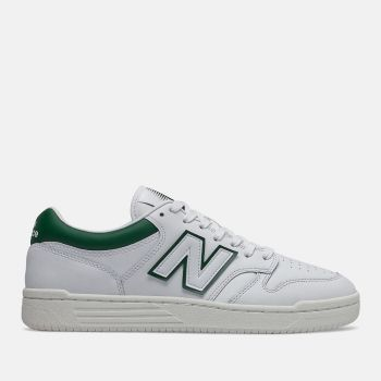 NEW BALANCE 480 Line – White Timberwolf Sneakers for Him