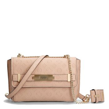 GUESS Bea Line – Almond Crossbody Bag