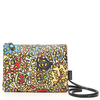 GABS Beyonce Time of Gabs Print Pochette Medium Size Made in Italy